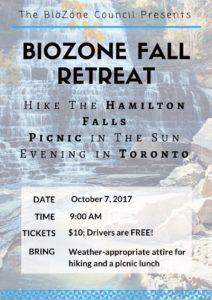 BioZone Fall Retreat @ Hamilton falls   Hamilton   Ontario   Canada